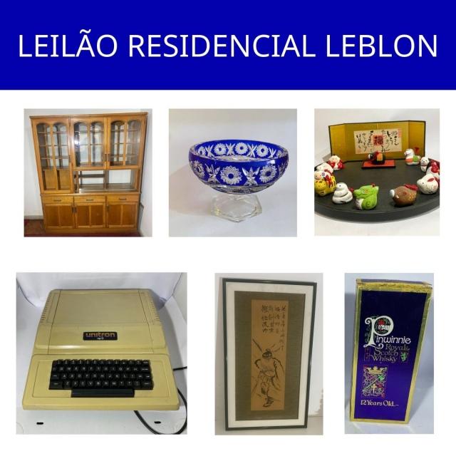 LEILÃO RESIDENCIAL LEBLON KOZAKA CAVALCANTI e outros comitentes