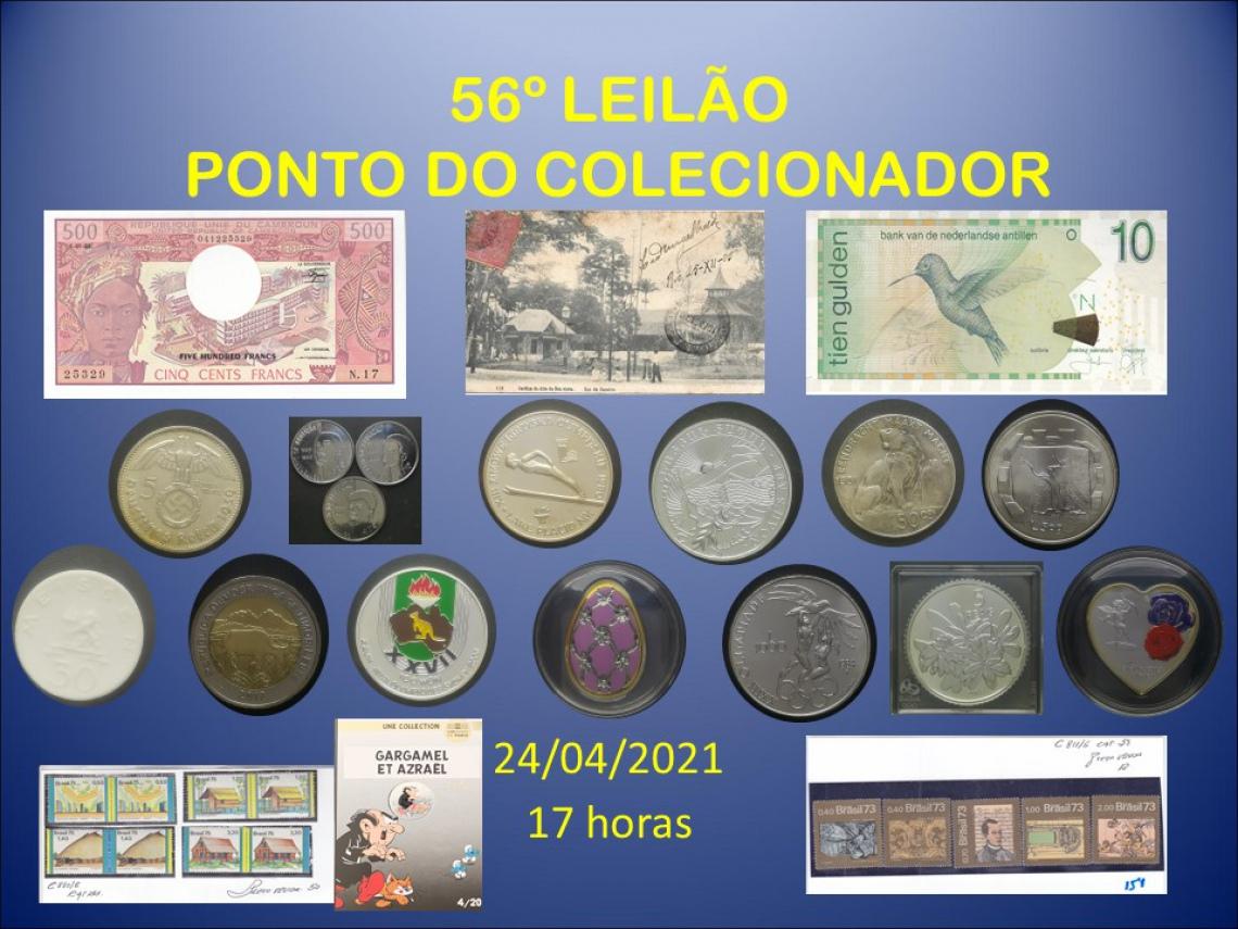 56º LEILÃO PONTO DO COLECIONADOR