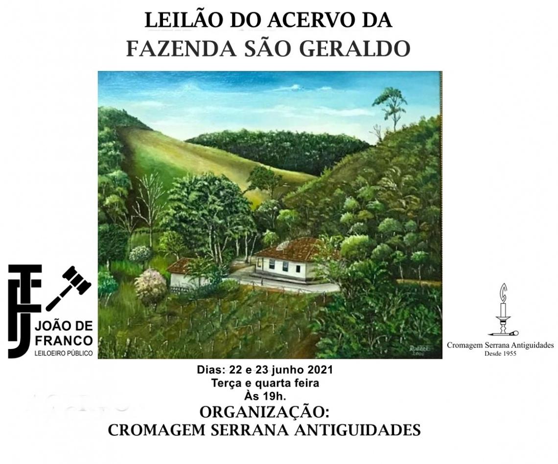 LEILÃO RESIDENCIAL FAZENDA SÃO GERALDO