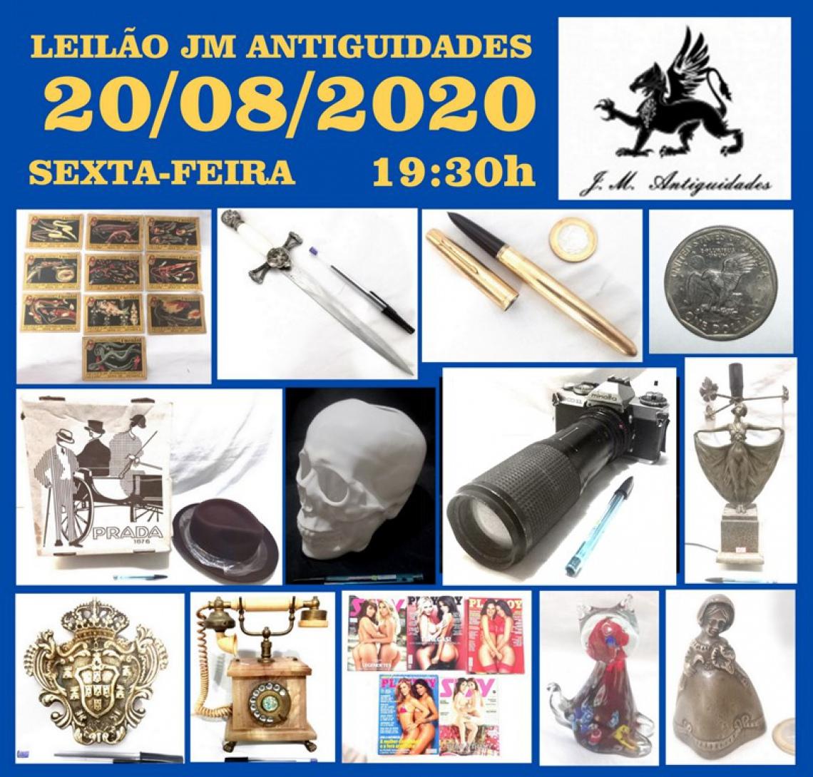 LEILÃO JM ANTIGUIDADES VIII