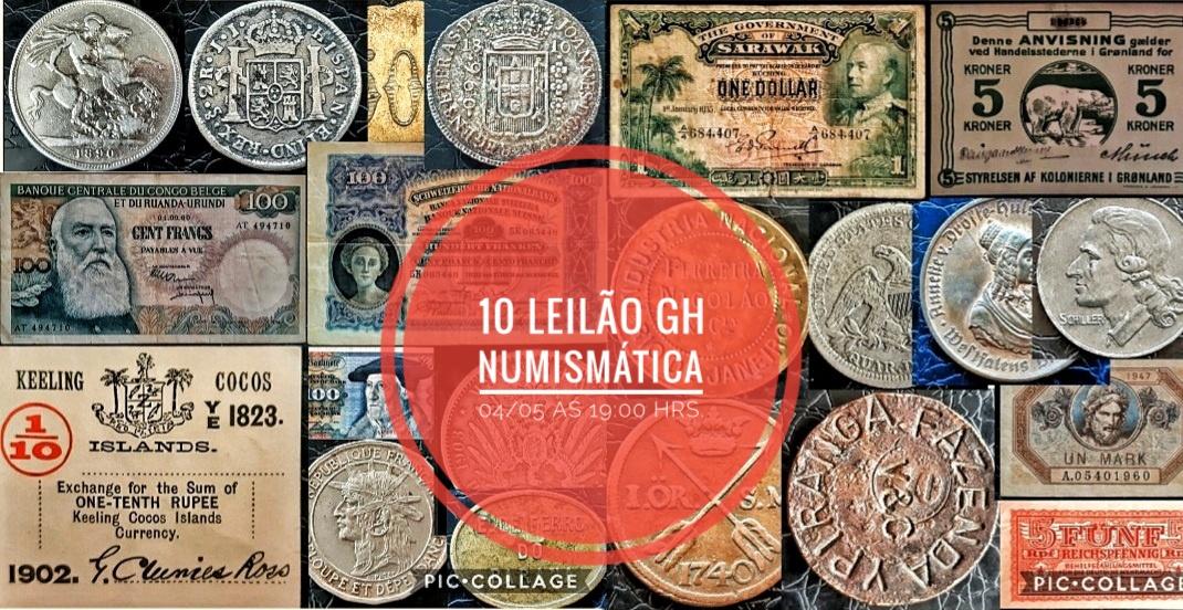 LEILÃO  GH NUMISMATICA