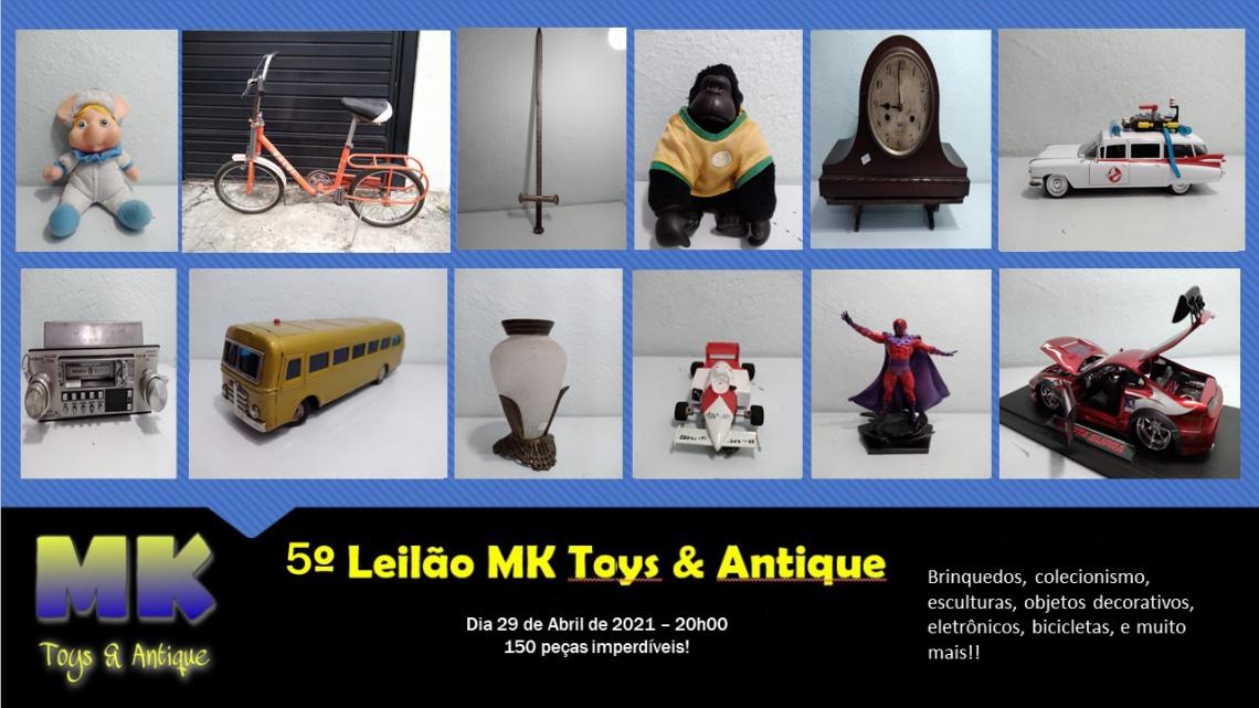 5º Leilão MK Toys & Antique