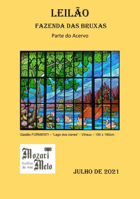 LEILÃO RESIDENCIAL - PARTE DO ACERVO DA FAZENDA DAS BRUXAS