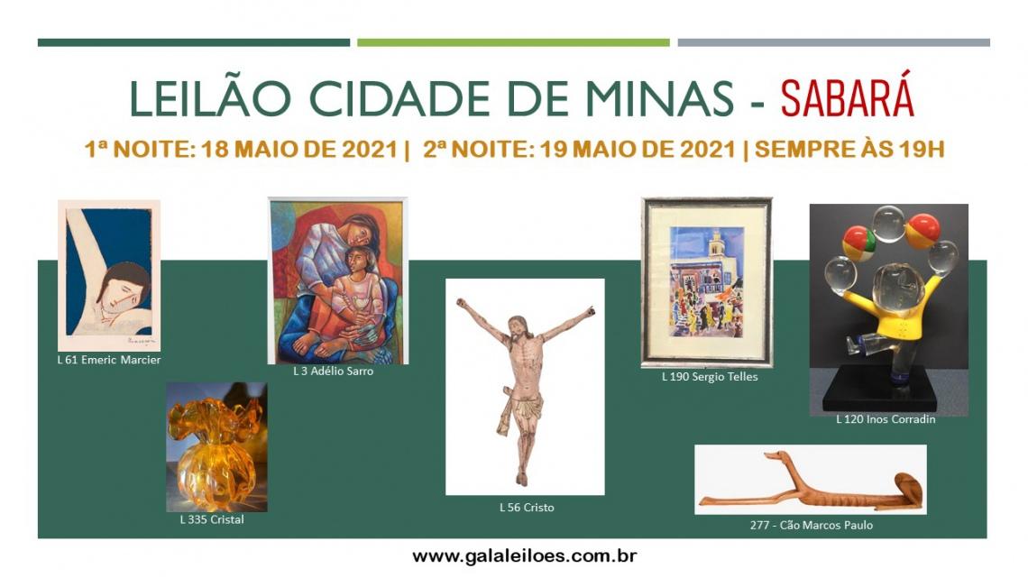 LEILÃO CIDADE DE MINAS - SABARÁ