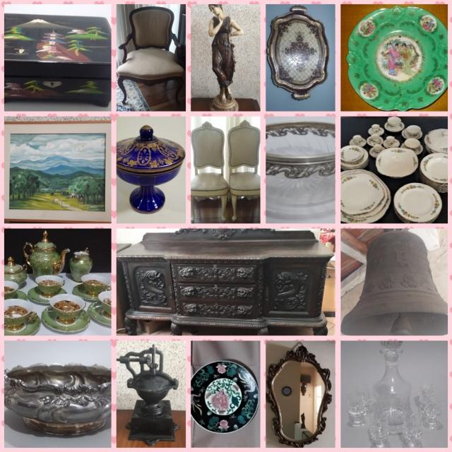 28 Leilão de Antiguidades, Móveis, Quadros , Porcelanas e Cristais