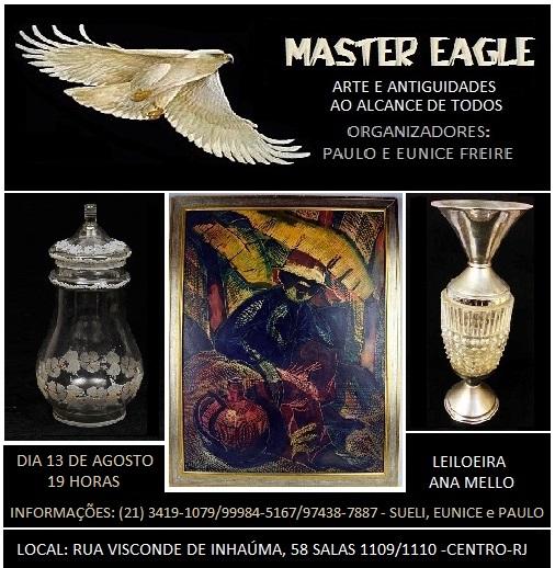 MASTER EAGLE - ARTE E ANTIGUIDADES AO ALCANCE DE TODOS