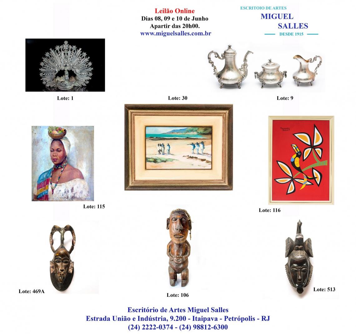 Coleções particulares e itens do acervo do Dr. Carlos Guinle e João Alexandre Gualda de Chermont