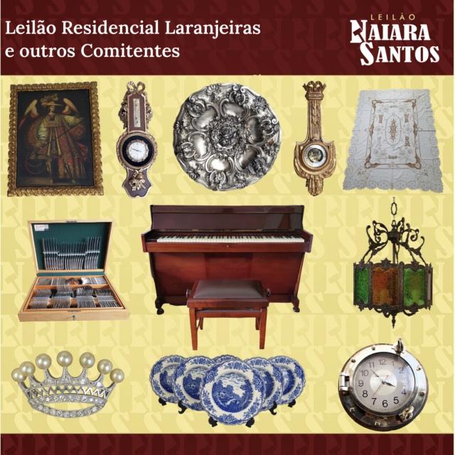 LEILÃO RESIDENCIAL LARANJEIRAS E OUTROS COMITENTES