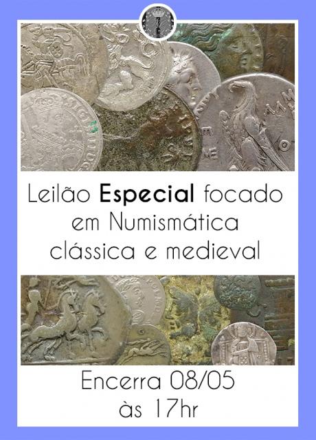 1º LEILÃO ESPECIAL FOCADO EM NUMISMÁTICA CLÁSSICA E MEDIEVAL