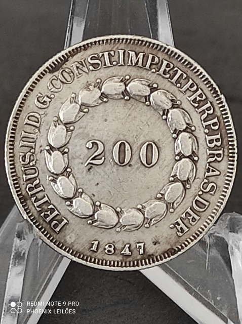 VII Leilão Phoenix - Um passeio completo pela Numismática: de 1849 a 2021