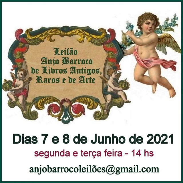 LEILÃO DE LIVROS ANTIGOS DE DIVERSOS ACERVOS FAMILIARES