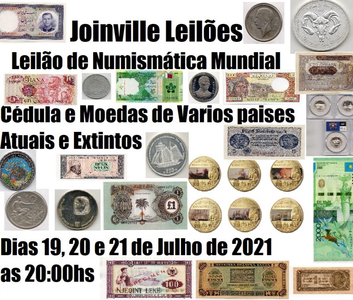 LEILÃO DE NUMISMÁTICA MUNDIAL