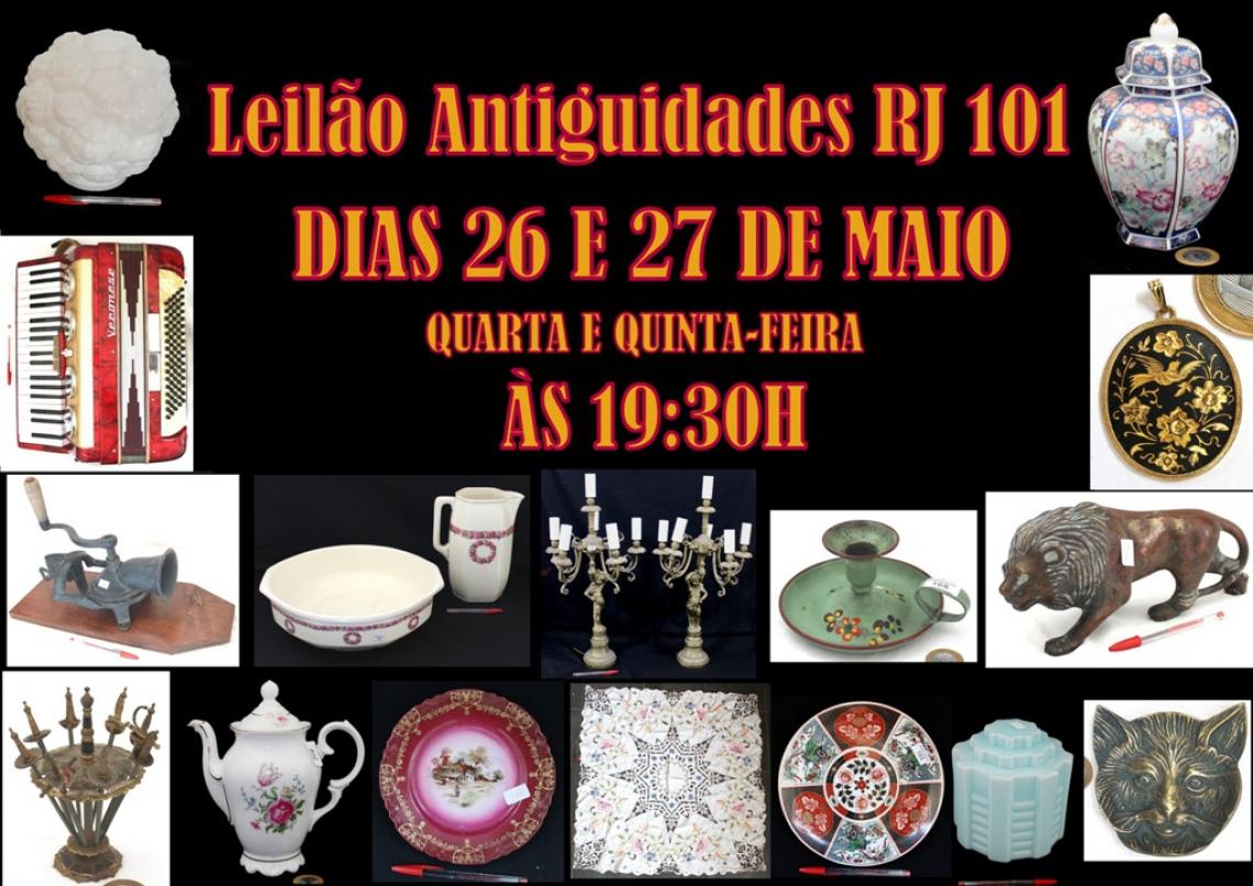 LEILÃO ANTIGUIDADES RJ 101