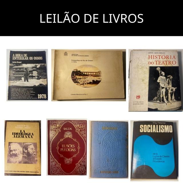 LEILÃO DE LIVROS DO ACERVO DO MÉDICO ROBERTO BENATHAR