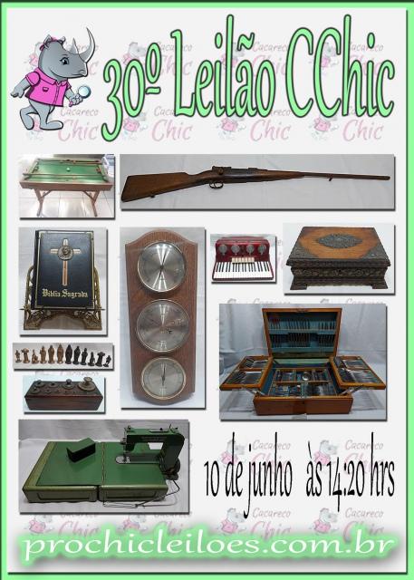 30º Leilão CCHIC