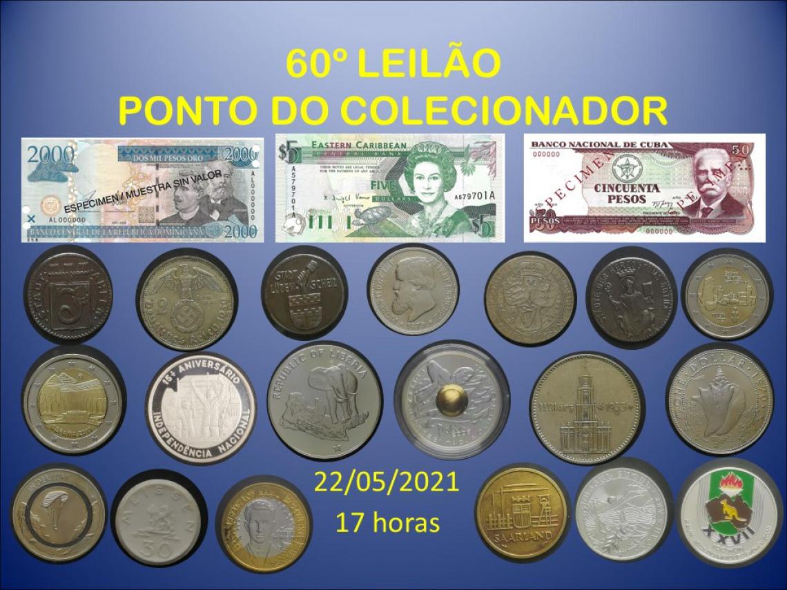 60º LEILÃO PONTO DO COLECIONADOR