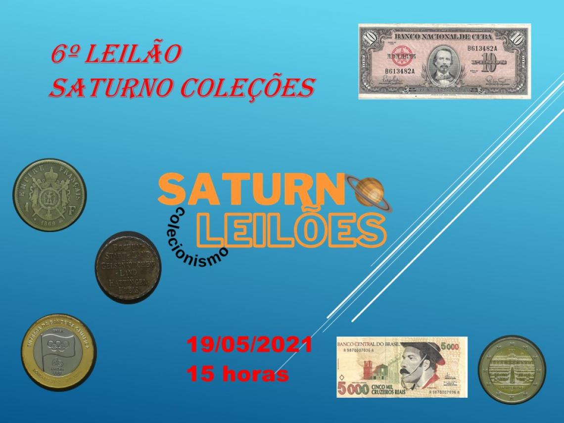 6º LEILÃO SATURNO LEILÕES
