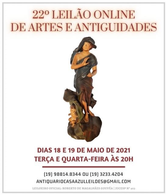 22º LEILÃO DE ARTES E ANTIGUIDADES