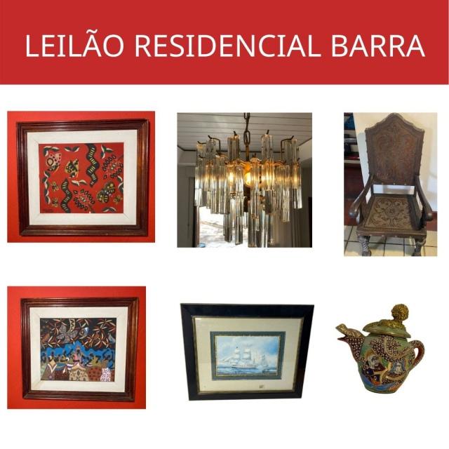 LEILÃO RESIDENCIAL JARDIM CLUBE DA BARRA