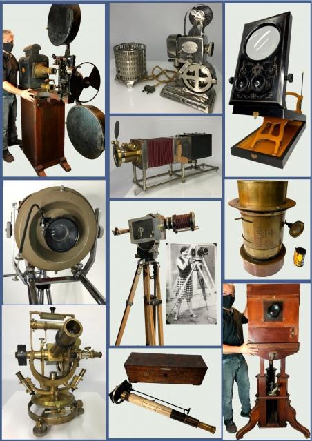 Leilão de Câmeras & Aparelhos Científicos