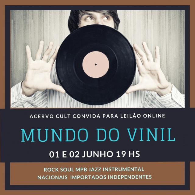 NO MUNDO DO VINIL - MPB - ROCK - SOUL - JAZZ