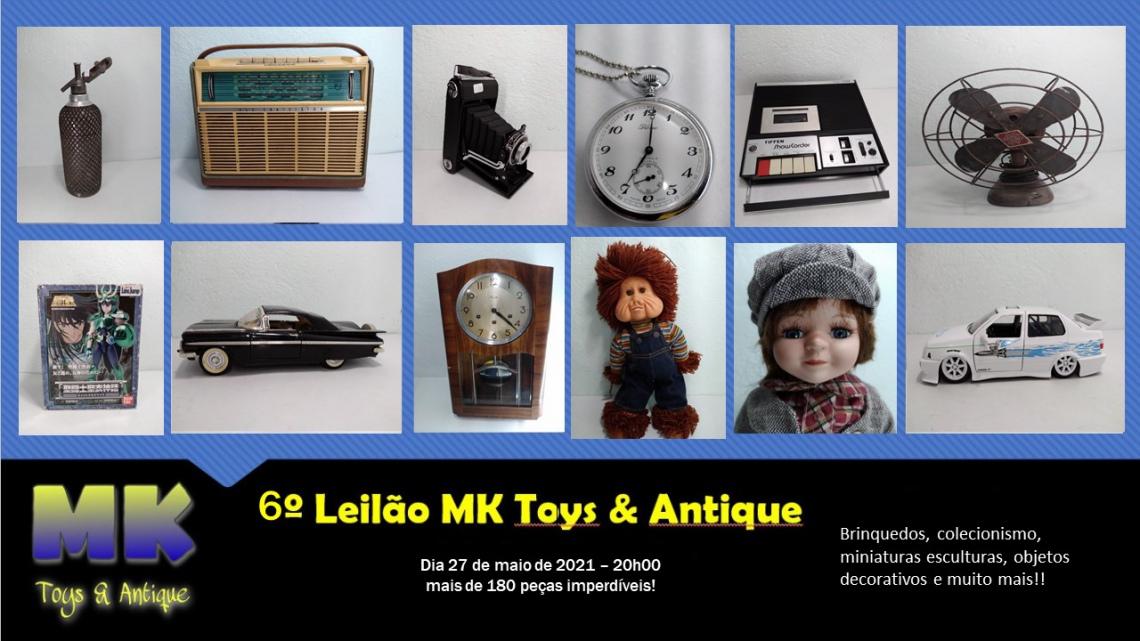 6 Leilão MK toys & antique