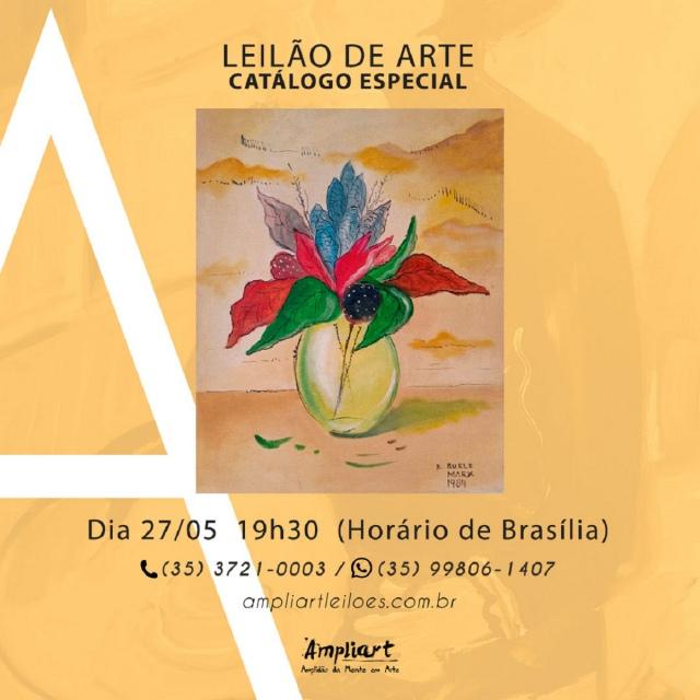LEILÃO DE ARTE - CATÁLOGO ESPECIAL