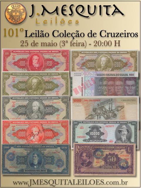 101º LEILÃO COLEÇÃO DE CRUZEIROS - J.MESQUITA