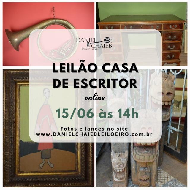 LEILÃO CASA DE ESCRITOR