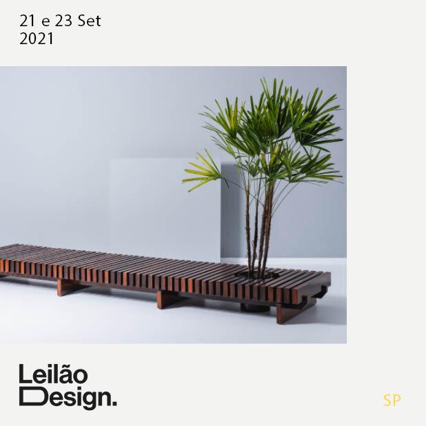Leilão Design - Junho 2021