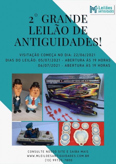 2 º GRANDE LEILÃO DE ANTIGUIDADES