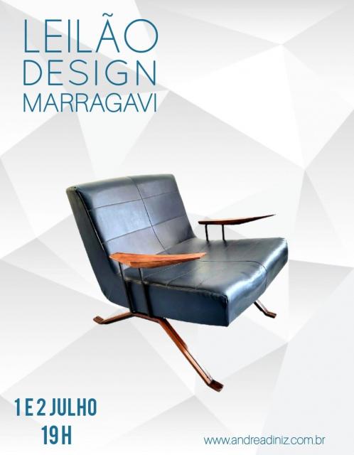 LEILÃO DESIGN MARRAGAVI