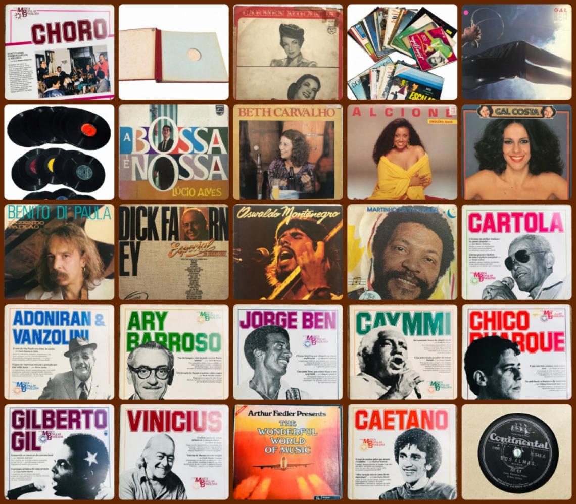 FEIRÃO DO DISCO DE VINIL - NACIONAIS E INTERNACIONAIS (LPs, EPs, COMPACTOS E ROTAÇÃO 78).