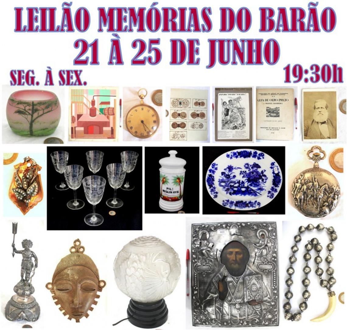 LEILÃO MEMÓRIAS DO BARÃO