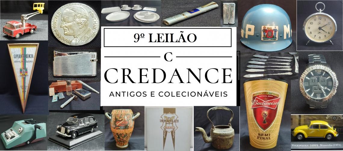 9º LEILÃO CREDANCE ANTIGOS E COLECIONÁVEIS