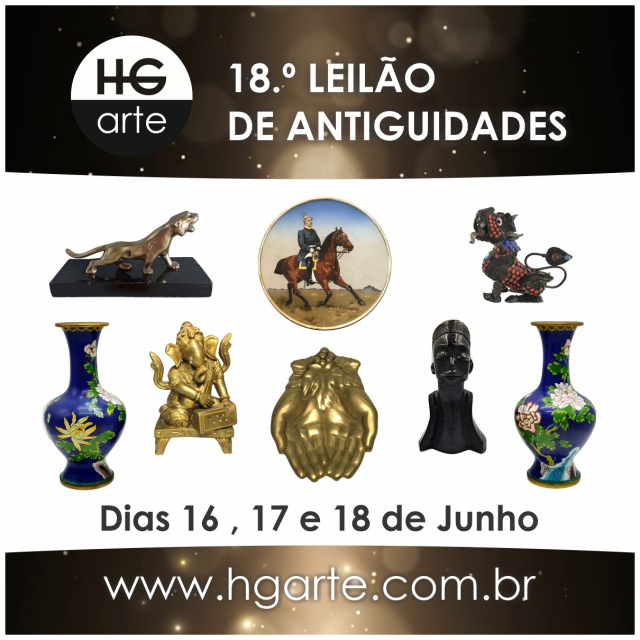 HG ARTE - 18.º LEILÃO DE ARTE E ANTIGUIDADES