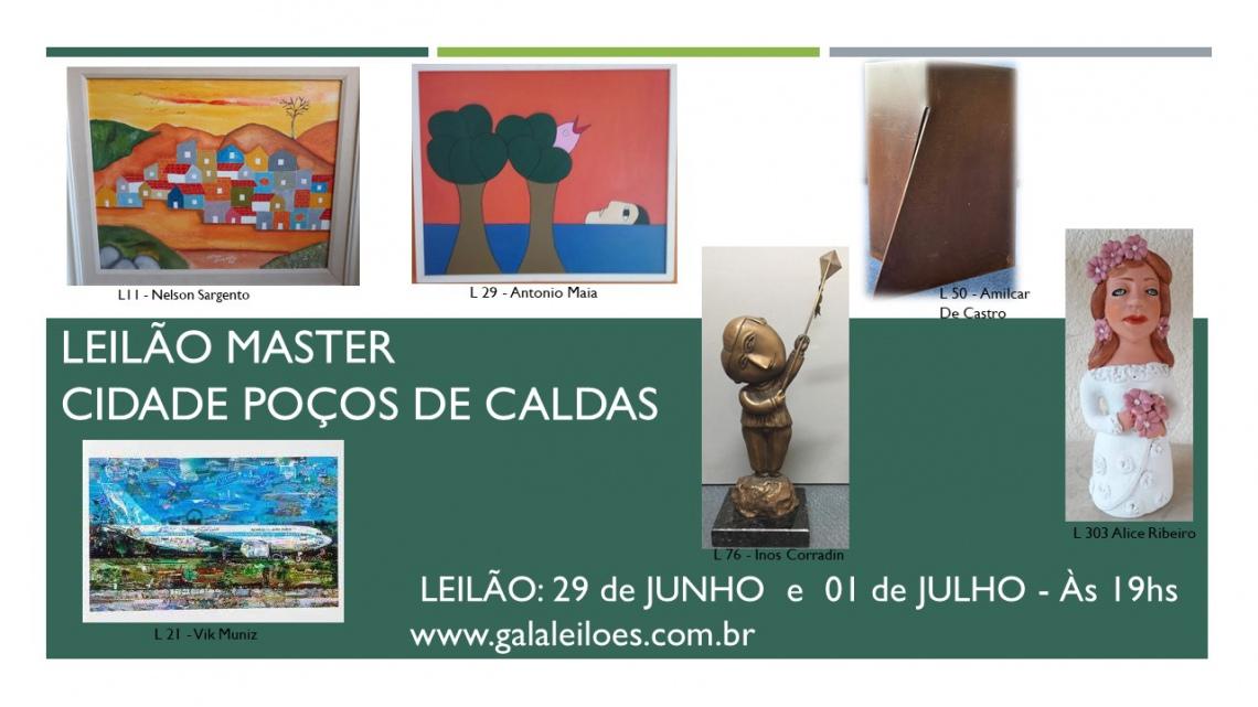 LEILÃO MASTER - CIDADE POÇOS DE CALDAS