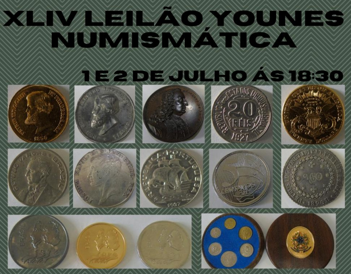 XLIV LEILÃO YOUNES NUMISMÁTICA