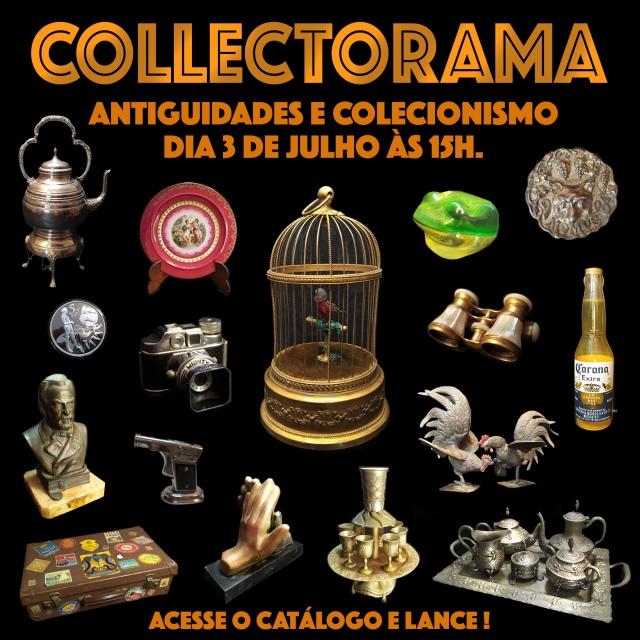 31º LEILÃO COLLECTORAMA DE COLECIONISMO, ARTE E ANTIGUIDADES