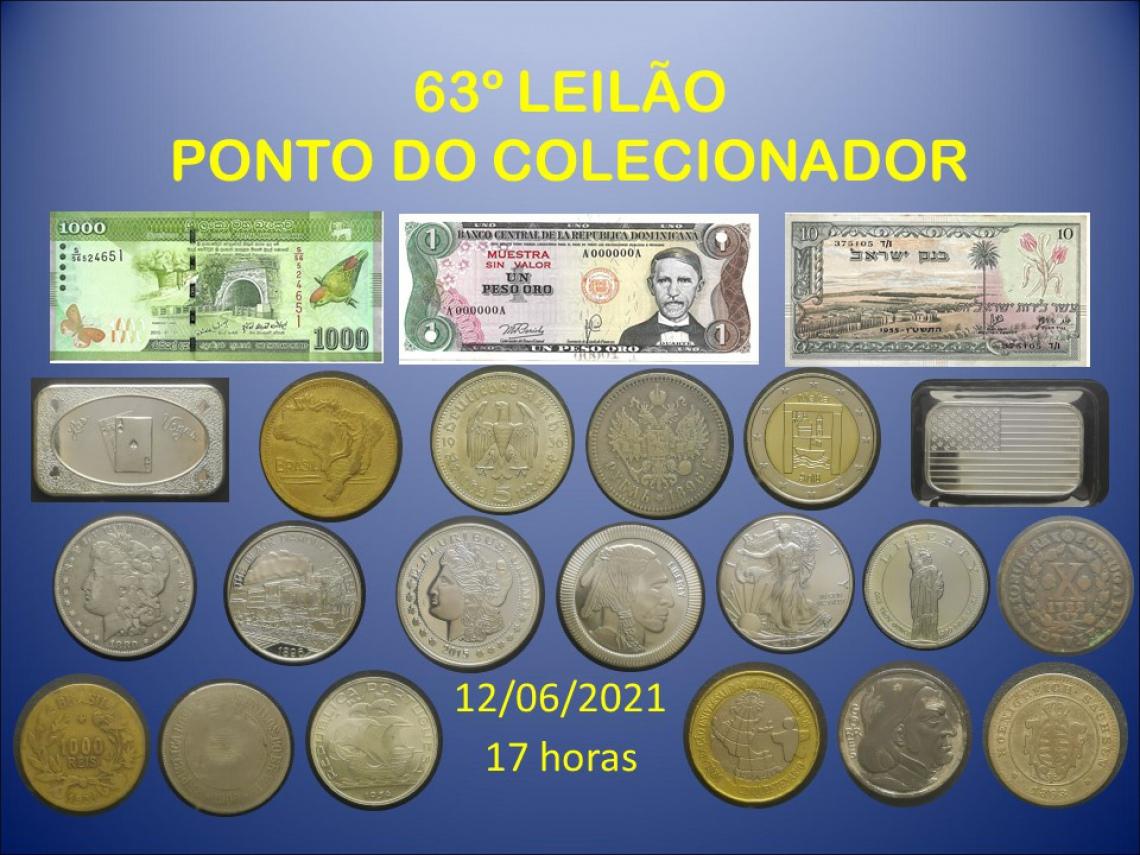 63º LEILÃO PONTO DO COLECIONADOR