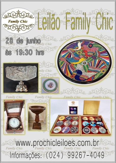 Leilão  Family Chic