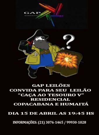 LEILÃO CAÇA AO TESOURO V