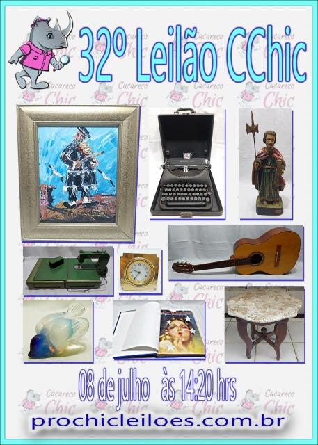32º LEILÃO CCHIC