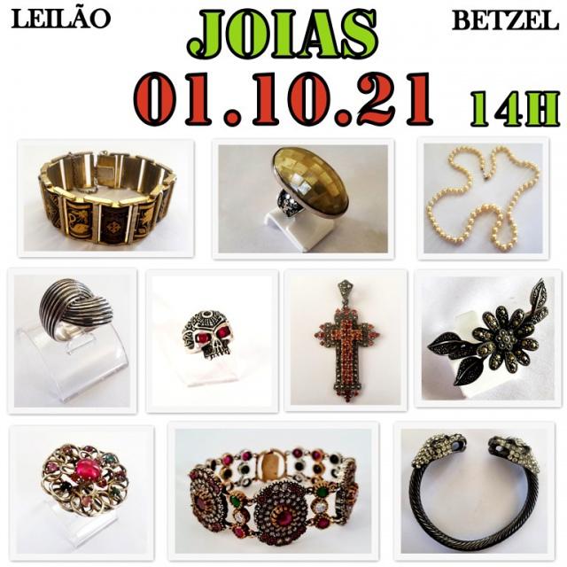 LEILÃO BETZEL JOIAS