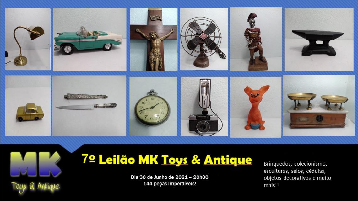 7 Leilão MK toys & antique