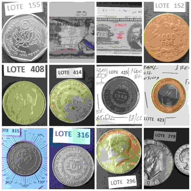 34º Leilão - Numismart Moedas Cédulas Medalhas - Nacionais e Internacionais