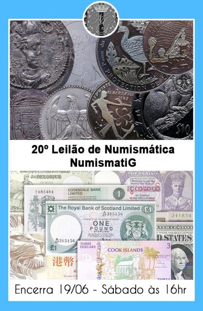 20º LEILÃO DE NUMISMÁTICA - NUMISMATIG LEILÕES