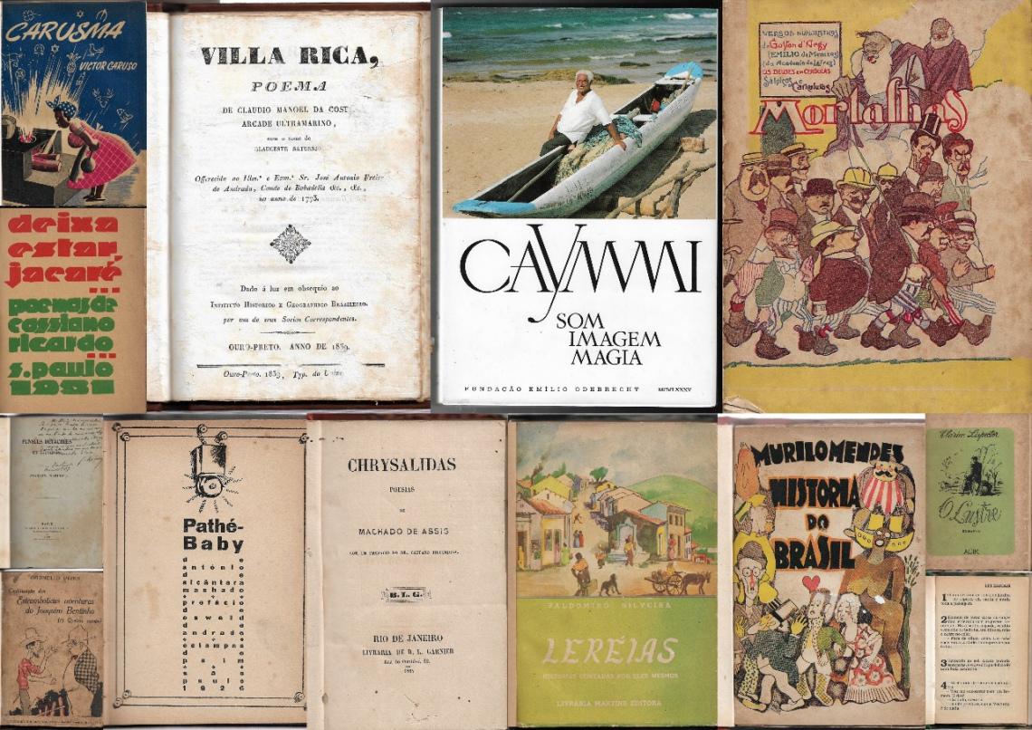 II Leilão da Livraria Susanne Bach- Literatura Brasileira
