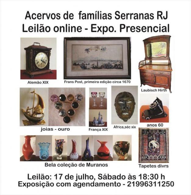 Acervos, Famílias Serranas RJ
