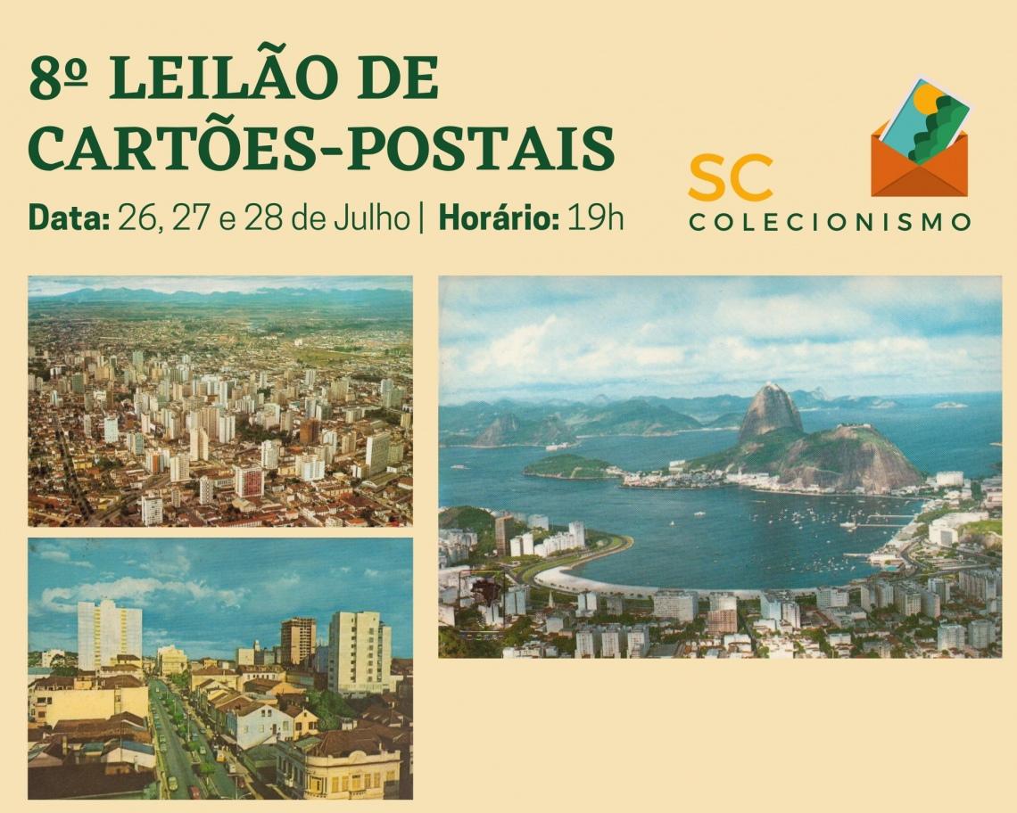 6º LEILÃO DE CARTÕES-POSTAIS